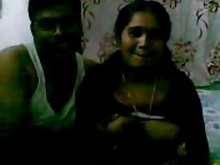 amazing tits indian girl on bed