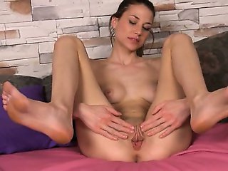 Gaping of her super sweet hole hole
