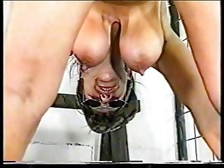 Older German Military Waoman Receives Her Punishment