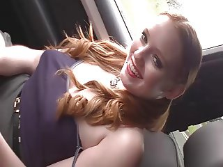 Hot Teen In Car JOI... IT4REBORN