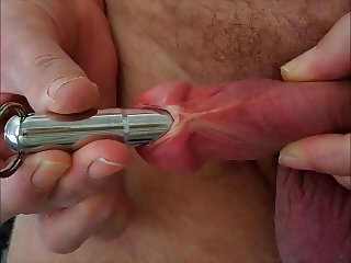 penis plug out see my large hole