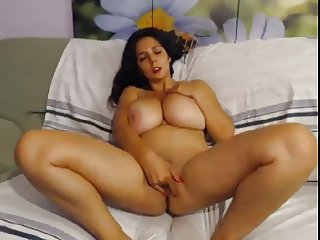 Big lovely breasts webcam show 2