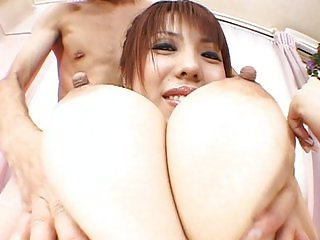 Japanese likes to play with honey cocks