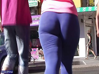 big ass candid spanish booty