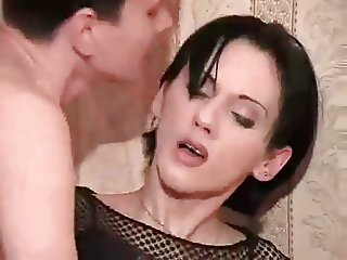 Guy Drills Petite Crossdresser Asshole BVR