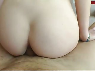 Sexy babe sucks big cock and gets fucked hard doggystyle