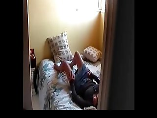 Mom filmed on spy cam
