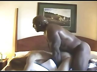 SHE CUMS IN REVERSE COWGIRL ON A GLUTTONOUS BLACK DUDE