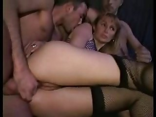 Swingers in an adult store