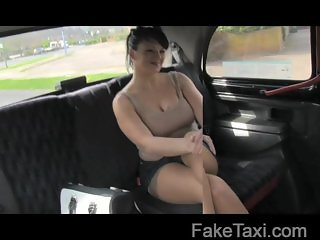 FakeTaxi - Horny cougar has it in every hole