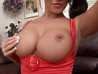 Cum on nice breasts