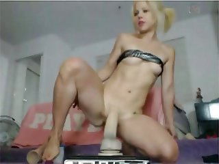 Holly Hanna Anal Toy Riding