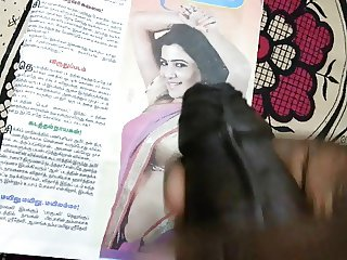 Cum Tribute to Indian Actress Tamil Actress Samantha