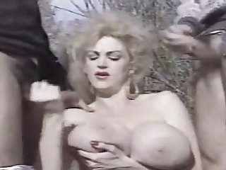 Chessie Moore Sucks 2 Cocks (Sorry No Sound)