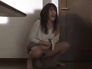 asian wife home alone