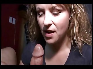 She made him finish in her mouth