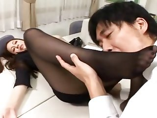 Japanese Foot Worship 1