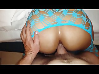 Latina Anal POV with cum