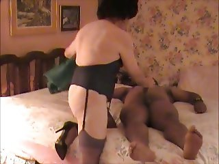 Crossdresser With BBC