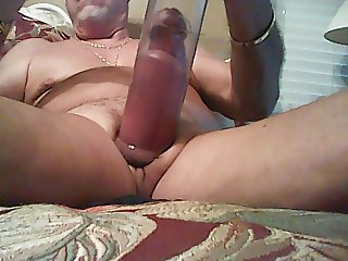 Pumping MY Cock And Balls After A HARD Days Work