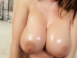 Huge breasted beauty pov tit fuck