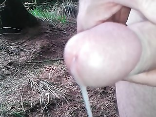 wanking in the forest 3