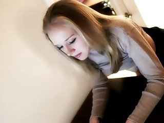Blond Teen Girl Spanking and Fucked