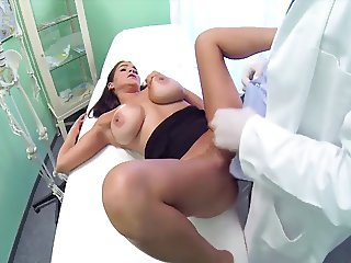 Doctor Love's Office-Hands on and Cock deep-by PACKMANS
