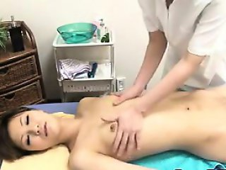 Asian Chick Gets A Massage