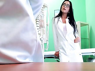 Doctor Love's Office-Training new Nurse-by PACKMANS