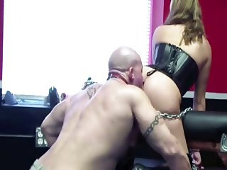 Bury Your Face In My Ass Slave