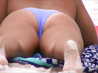 spy beach cameltoe jiggly ass 169, 170,