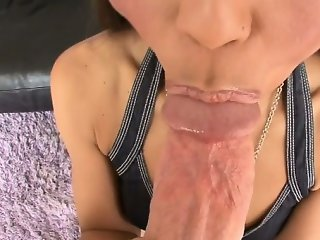 Milf is an amazing wang sucker
