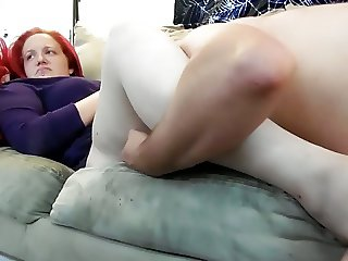 Eating and Fucking Redhead's Big Pussy Lips (Part 1 of 3)