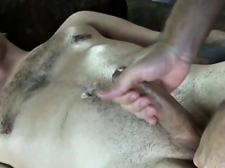 Straight amateur balls sucked by gay