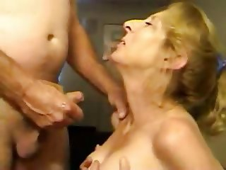 Blond Mom Loves Sperm
