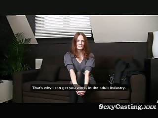 Casting - Too Beautiful for porn