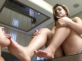 Cristine's First Foot Domination 2