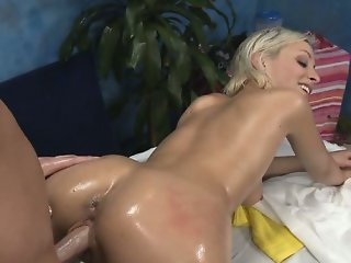 Hot adorable gal gets arse banged
