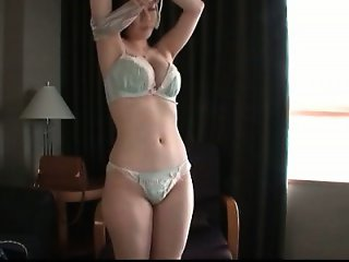 Cute Asian fuck doll showing off her tempting sex parts