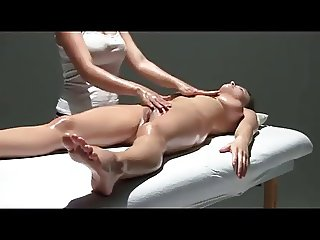 Young Woman Given a Very Personal Massage WF