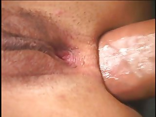 Big booty perky tit latina girls get anally fucked by one huge dick