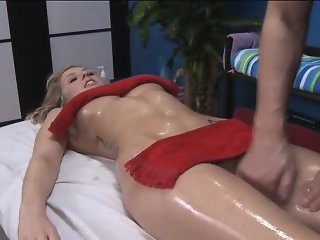 Hot honey plays with dick