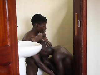 Forbidden gay tribal sex with african folks giving head