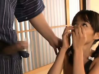 Asuka Hoshino sucks shlong and balls