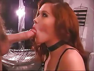 Mistress plays with cute blond sub guy
