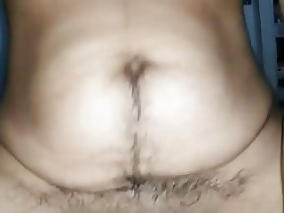 very hairy indian wife
