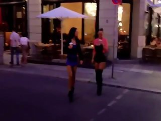 Real whores on the street of Germany