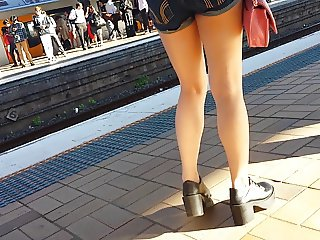 Bare Candid Legs - BCL#053