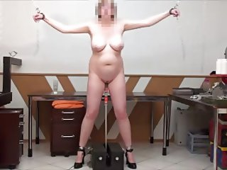 standing sex machine fuck